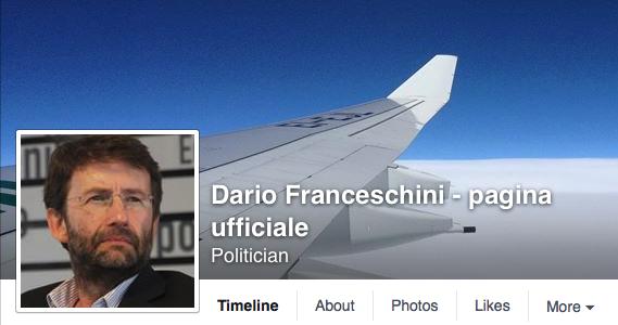 Dario Franceschini - pagina facebook